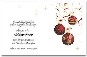 christmas invitations ornaments and gold starlights invitation christmas