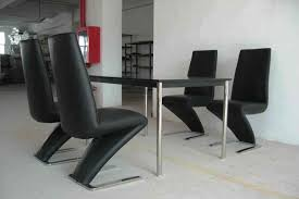 Leather Chair Modern Leather Dining Chairs U2013 Modern Upholstered Oak Or Chrome Sets