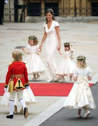 kate and william u0027s royal wedding in pictures as little sister