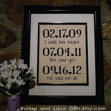 wedding anniversary gifts for him lovely linen wedding anniversary gifts wedding gifts