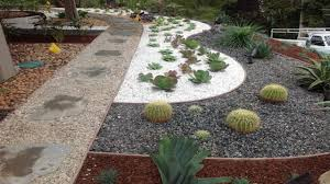 landscaping with succulents pea gravel colors pea gravel
