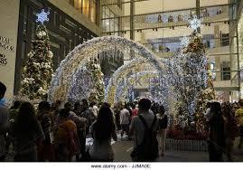 Christmas Decorations Shopping Malls Kuala Lumpur by Christmas Shopping Mall Crowded Stock Photos U0026 Christmas Shopping