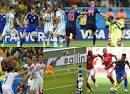 ผลฟุตบอลโลก 2014 รอบสุดท้าย ที่ประเทศบราซิล เมื่อคืนที่ผ่านมา และ ...