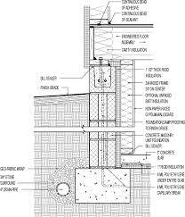 insulated basement concrete block with 1 1 2in interior rigid