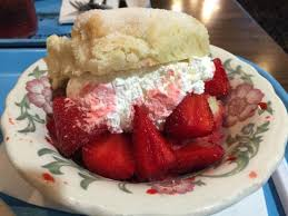 strawberry shortcake picture of gray brothers cafeteria