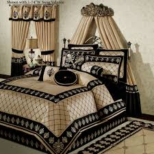 bedroom cool black and gold bedroom ideas home interior design