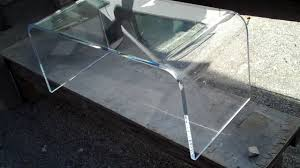 Plexiglass Coffee Table Acrylic Coffee Table Lucite Waterfall