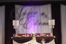 wedding backdrop name large initial backdrop name joyce wedding services
