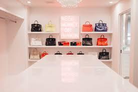 kris kardashian home decor meet the la artist behind kris jenner u0027s new birkin closet kris