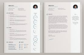 free minimal resume psd template free free resume template with cover letter by alamin mir best