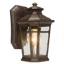 home decorators hampton bay home decorators collection waterton 1 light dark ridge bronze