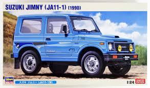 jeep suzuki hasegawa 20301 suzuki jimny ja11 1 type 1 24 sc plazajapan