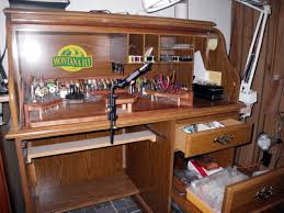 Diy Fly Tying Desk 30 Diy Fly Tying Station Ideas Fly Tying Vises Asia And