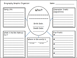 writing a biography graphic organizer historical figure biographies all bottled up scholastic
