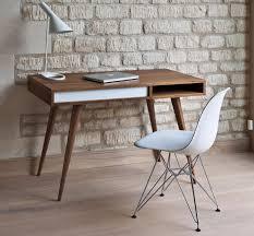 Holz Schreibtisch Kaufen Holz Schreibtisch Modern Integrierter Stauraum Celine By