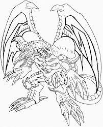 black skull dragon yu gi coloring pages dragons