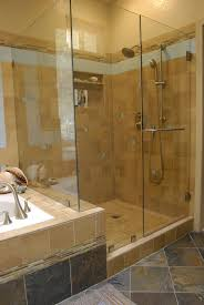 bathroom tiled showers ideas bathroom travertine tile shower is for your bathroom and