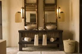bathroom vanities country style casanovainterior with reclaimed