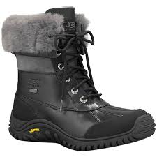 ugg s adirondack boot ii black grey ugg adirondack ii boot s backcountry com