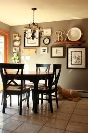 kitchen wall decoration ideas gallery wall but change put shelf in middle and pictures on the