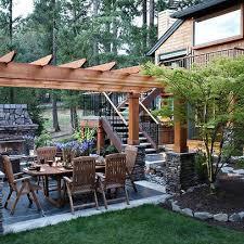 Best Pergola Images On Pinterest Backyard Ideas Garden Ideas - Backyard pergola designs