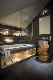 slate bathroom ideas 26 awesome bathroom ideas slate bathroom live edge wood and wood slab
