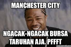 Meme Comic Terbaru - 11 meme sindir keras manchester city dari okb sai stadion kosong