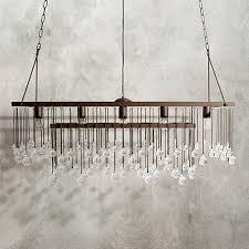 arhaus chandelier large rectangle chandelier arhaus furniture