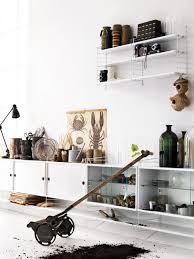 string system shelving from string furniture architonic