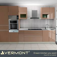 Readymade Kitchen Cabinets Prefab Homes Modern Style China Flat Pack Kitchen Ready Made