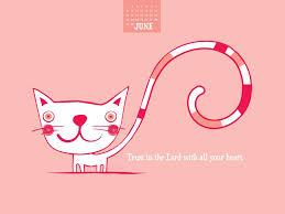 Small Desktop Calendar Free June 2014 Trust In The Lord Desktop Calendar Free June Wallpaper