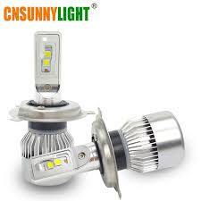 aliexpress com buy cnsunnylight h4 car led headlight bulbs h l