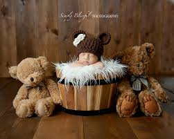 newborn photography props newborn hat newborn photo prop brown hat baby