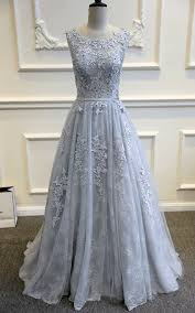 blue wedding dresses gray blue lace wedding dress blue gown a line wedding