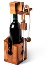 Wine As A Gift Wood Wine Puzzle