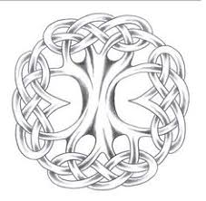 simple norse tattoo simple tree of life stencil google search узоры pinterest