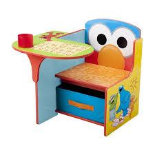 Elmo Sofa Chair Sesame Street Chair Desk With Storage Bin By Delta Children Free