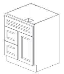 Rta Bathroom Vanities S2421b Bathroom Vanities Greystone Shaker Rta Kitchen Cabinet