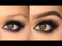 proper way to fill in eyebrows easy eyebrow tutorial youtube