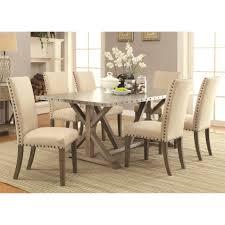 delightful ideas metal top dining table dazzling design 1000 ideas