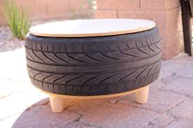Car Wheel Coffee Table by Diy Recycled Tire Coffee Table Persia Lou