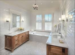 subway tile bathroom floor slanted floor to ceiling window etched
