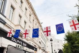 Georgian Flag Agenda Ge European Week Begins In Georgia