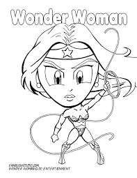 coloring pages of wonder woman coloring pages vanquish studio
