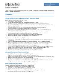 resume for catherine d kyle admin rev 012017