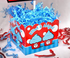 Thing One And Thing Two Party Decorations Dr Seuss Thing 1 U0026 Thing 2 Twins U003cbr U003epersonalized Table Centerpiece