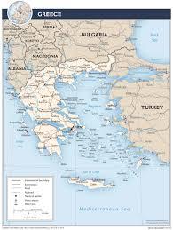 Greece On World Map Landkarten Von Griechenland Maps Of Greece