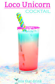 layered rainbow shots loco unicorn rainbow colored loconut cocktail mix that drink