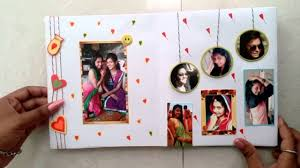 best friend photo album birthday card for my best friend