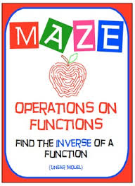 maze functions inverse of functions find the rule linear model